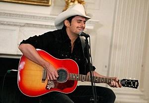 Brad Paisley at The White House