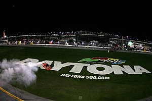 "Jamie McMurray ""Burnout"""