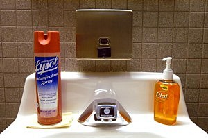 No Soap In The Bathroom--What To Do?