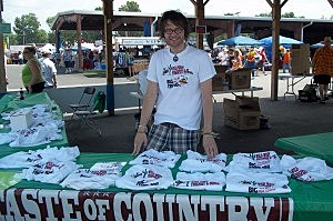 Zach Effrog Selling T-Shirts
