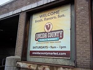 Public Market's Opening Day In Utica