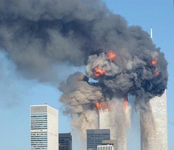 September 11th Twin Towers Then Amp Now Caught In Amazing Pic