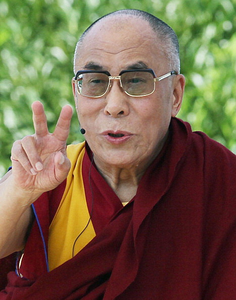 "Dalai Lama Gives ""Talk For World Peace"" In Front Of U.S. Capitol"
