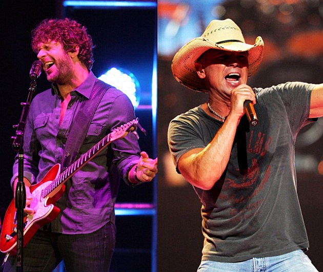 Billy Currington and Kenny Chesney