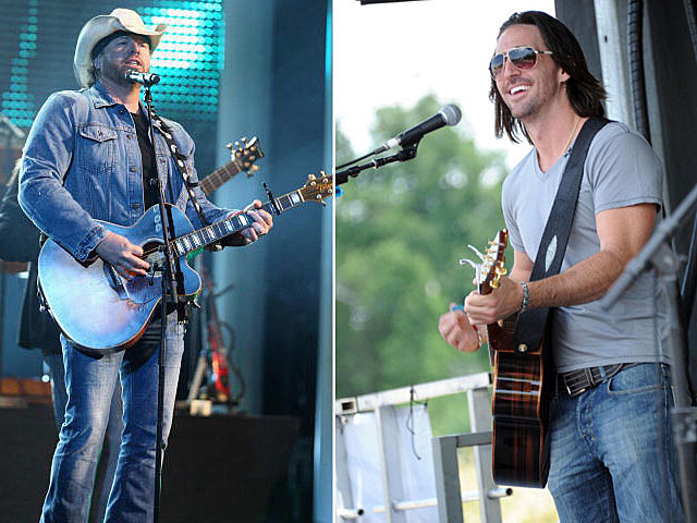 Toby Keith and Jake Owen