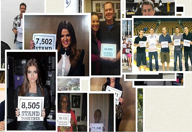 Stand together website extreme makeover