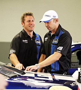 Chad Knaus and Ron Malec