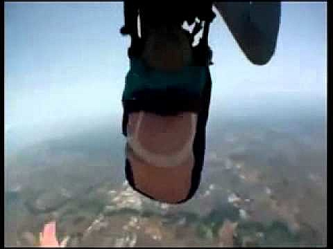 Skydiving Goes Wrong 80 Year Old Granny Falls Out Of