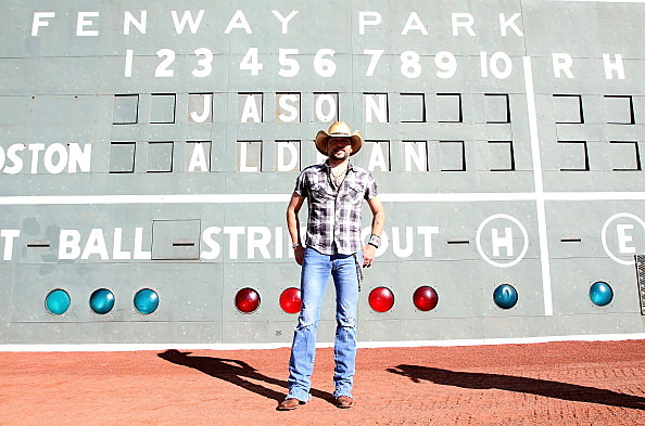 Jason Aldean Announces 2013 Concert At Boston's Fenway Park