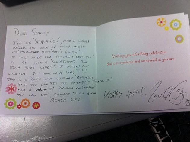 OMG Keith Urban Sent Me a Personalized Birthday Card VIDEO PHOTOS – Urban Birthday Cards