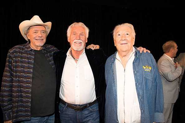 Bobby Bare, Kenny Rogers, and Jack Clement
