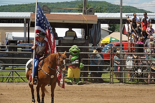 FrogFest 25 Painted Pony Rodeo Frog Salute