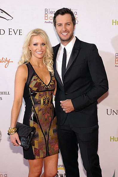 Luke Bryan and Wife, Caroline Boyer