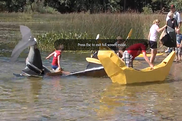 How To Build A Cardboard Boat VIDEO