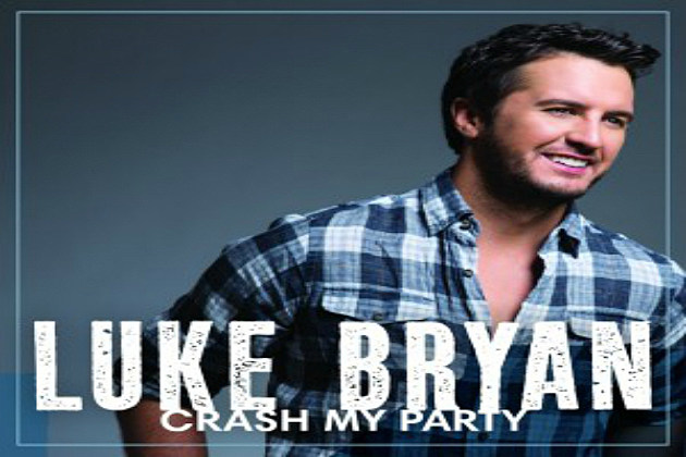 Luke Bryan - Crash My Party CD Cover