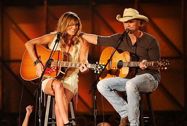 Grace Potter and Kenny Chesney
