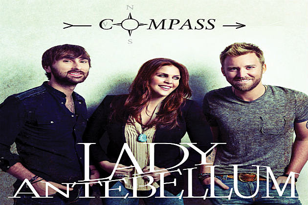 Lady Antebellum Compass Art Work