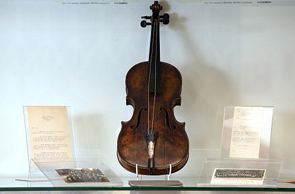 Titanic Violin On Display