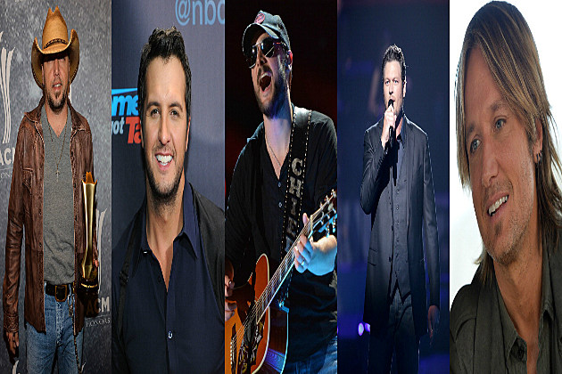 2013 CMA Male Artist of the Year Nominees