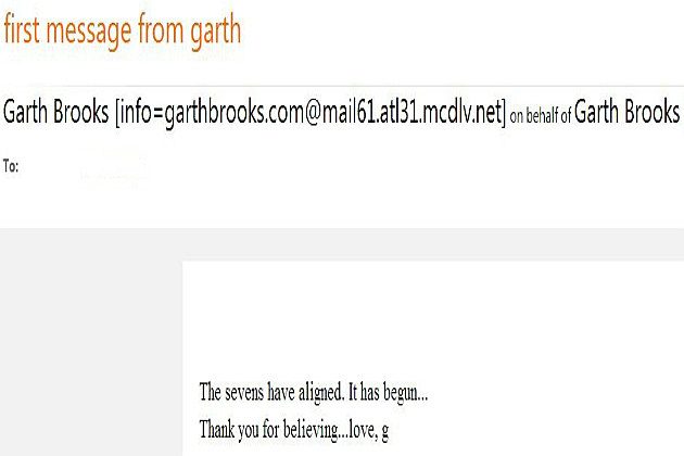 Garth Brooks Email