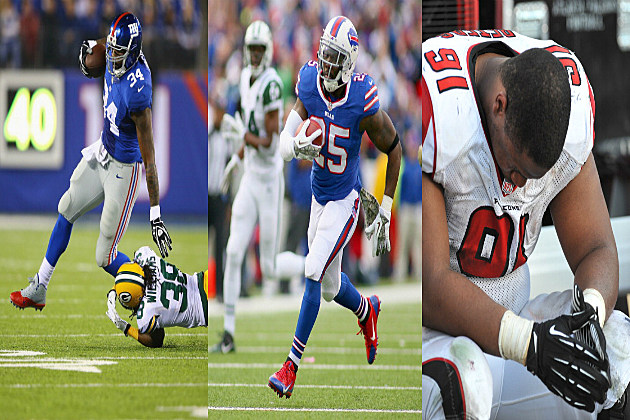 Giants - Bills - Falcons