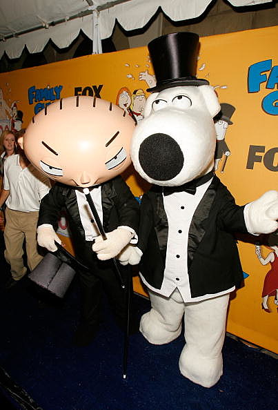 Family Guy's Stewie and Brian