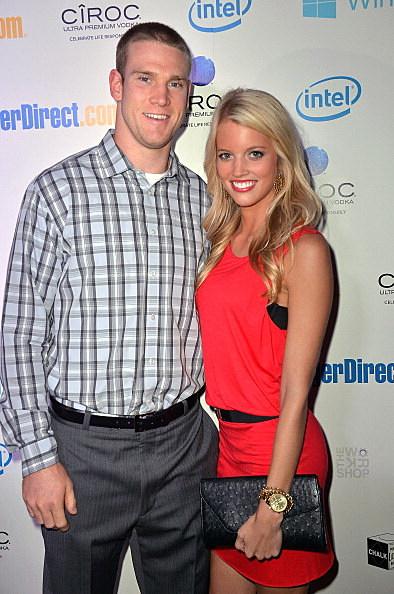 Miami Quarterback Ryan Tannehill and His Wife Lauren