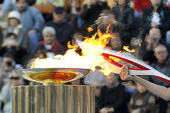 Olympic Flame Handover Ceremony