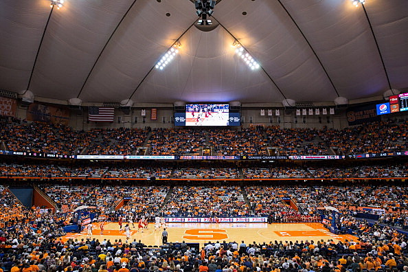 The Carrier Dome on November 18th, 2013
