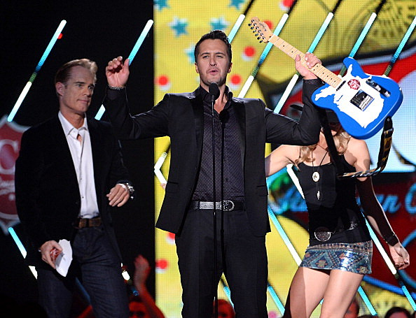 Luke Bryan at the 2013 ACAs