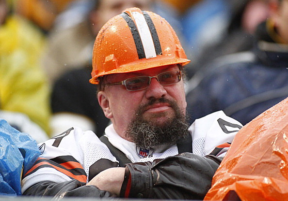 Loyal Cleveland Browns Fan