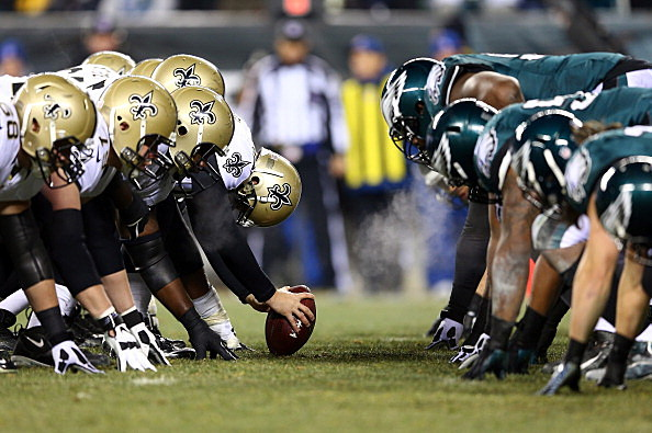 Saints and Eagles 2013 NFL Wild Card Round