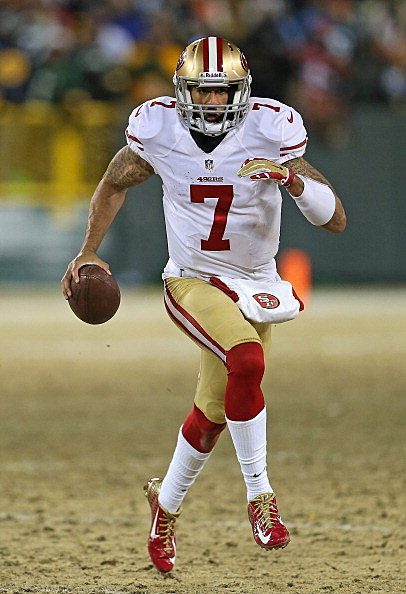 Colin Kaepernick in Green Bay