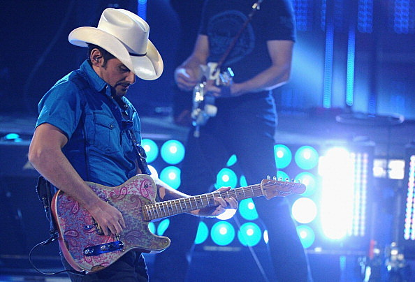 Brad Paisley at the People's Choice Awards