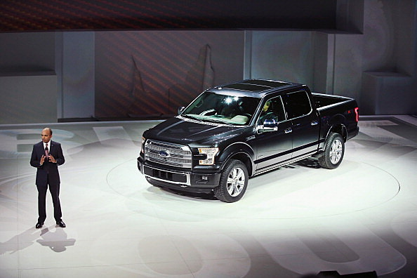 The Brand New 2015 Ford F-150