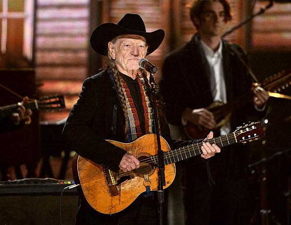 Willie At The Grammys
