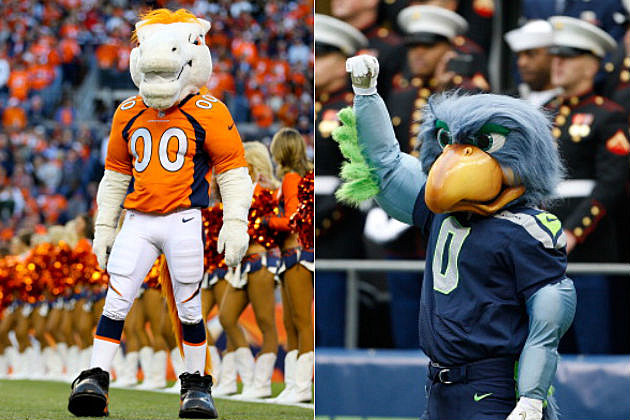 Two Mascots One Game