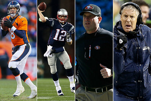 QBs and Coaches - Big Time Rivals