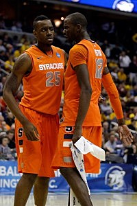Baye Moussa Keita and Rakeem Christmas