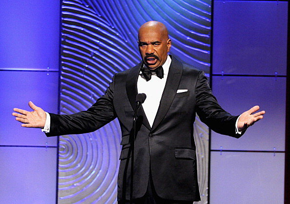 Steve Harvey; Host of The Family Feud