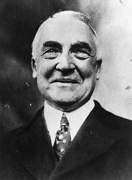 President Warren Harding