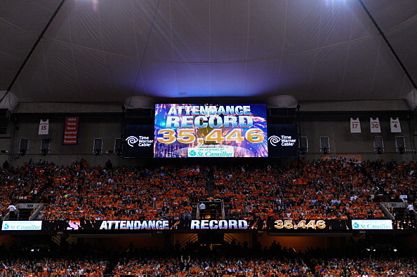 Syracuse Orange Fans Set Yet Another Attendance Record