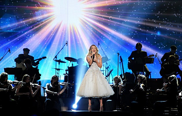 Carrie Underwood at ACM Presents: An All-Star Salute To The Troops