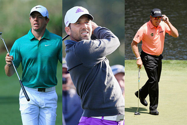 how many golfers in the masters