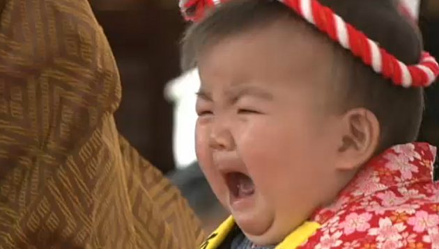 Baby Crying Contest In Japan