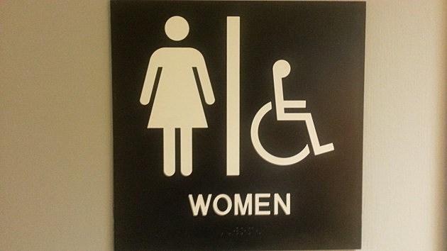 Attirant Ladies Bathroom Symbol Gets A Makeover
