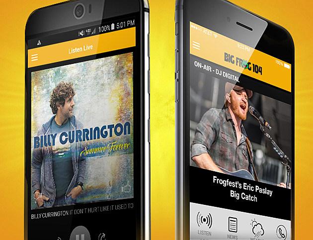 BIG FROG 104 Mobile App