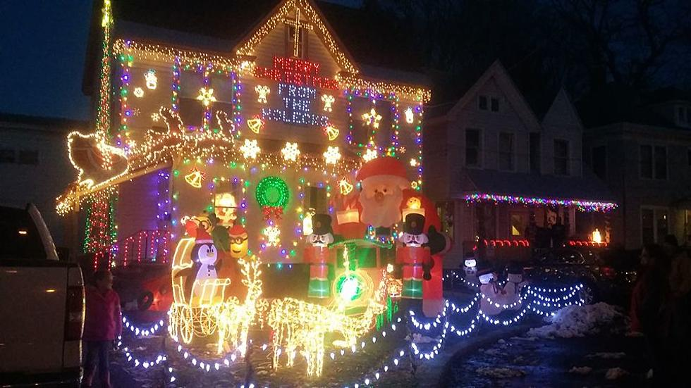 rome home puts griswold christmas lights to shame - Griswold Christmas