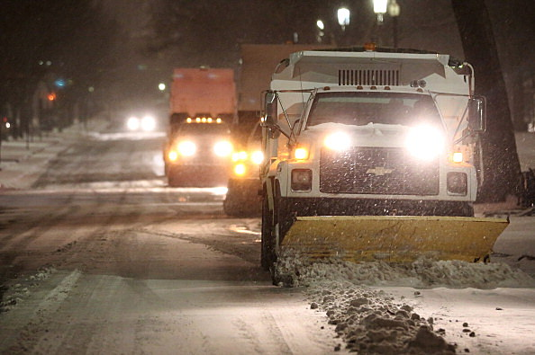 Strong Winter Storm Bears Down On Northeastern U.S.