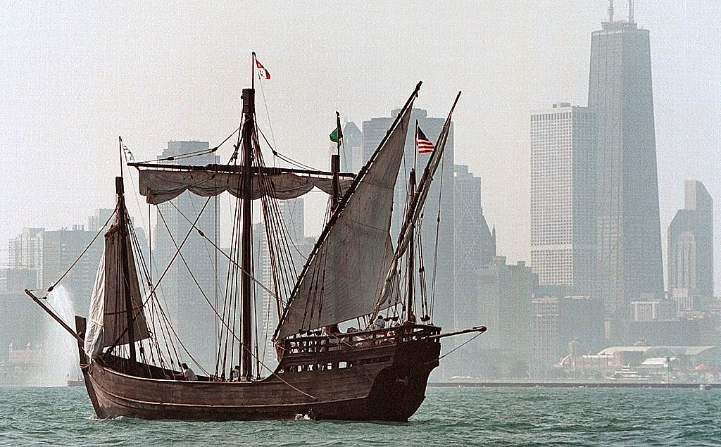 Tall Ships Sail and Parade into Chicago